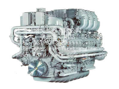 ENGINE MOTOR -MTU ENGINE|538 series